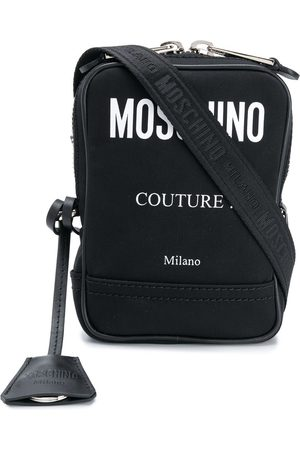 Moschino Contrast logo shoulder bag
