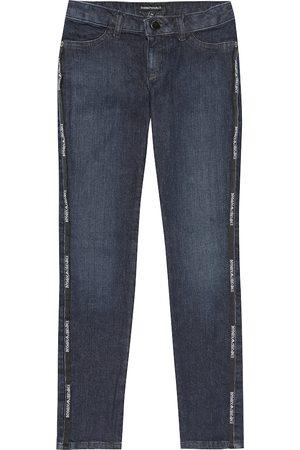 Emporio Armani Damen Stretch - Jeans mit Stretch-Anteil und Logo