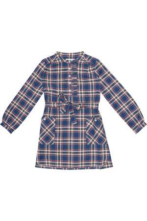 BONPOINT Kariertes Kleid Mila aus Baumwolle