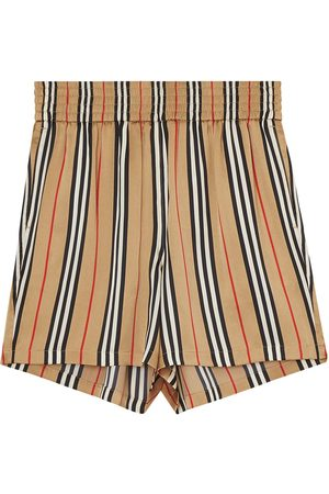Burberry Damen Shorts - Icon Stripe shorts