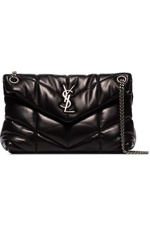 Saint Laurent Loulou quilted small shoulder bag