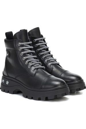 Miu Miu Damen Stiefeletten - Ankle Boots aus Leder