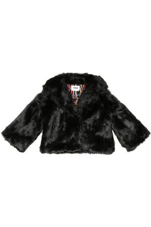 Msgm Jacke aus Faux Fur
