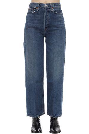 RE/DONE 60er-jeans Aus Baumwolldenim Mit Weitem Bein