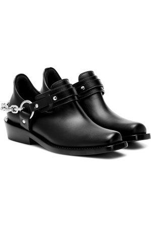 Paco rabanne Ankle Boots Moto aus Leder