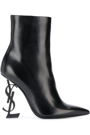 Saint Laurent Opyum 105mm ankle boots