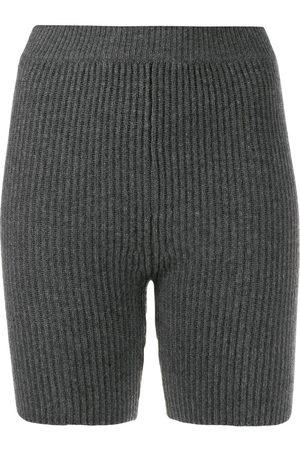 Cashmere In Love Damen Shorts - Mira knitted biker shorts