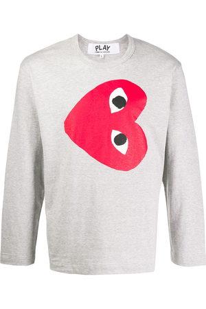 Comme des Garçons Heart print sweatshirt