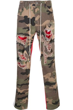 Mostly Heard Rarely Seen Two-tone camouflage trousers