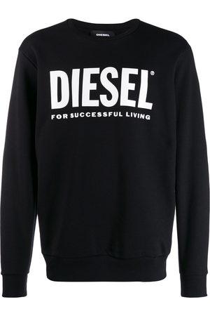 Diesel Herren Strickpullover - Logo print jumper