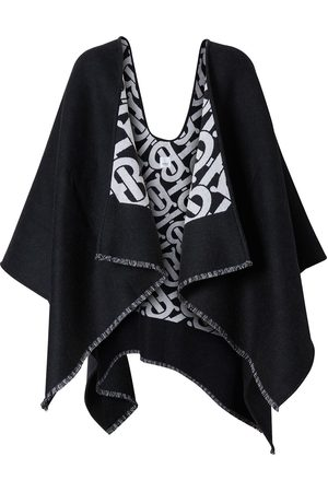 Burberry Damen Mäntel - Monogram jacquard cape
