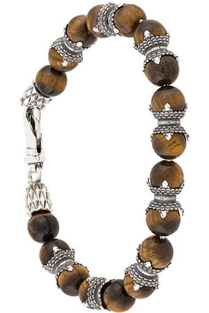EMANUELE BICOCCHI Tiger Eye beaded bracelet