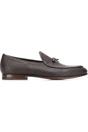 Scarosso Henri woven loafers