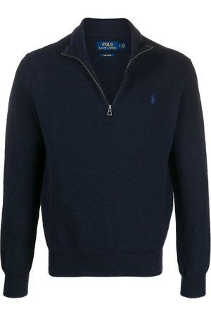 Polo Ralph Lauren Zipped high-neck jumper