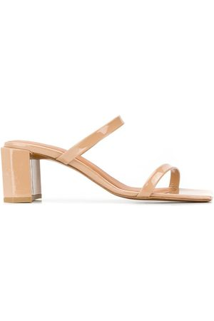 By Far Square toe sandals