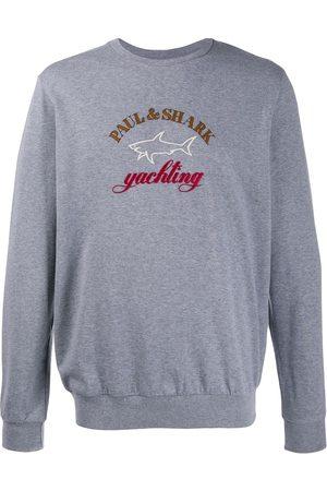 Paul & Shark Embroidered logo jumper