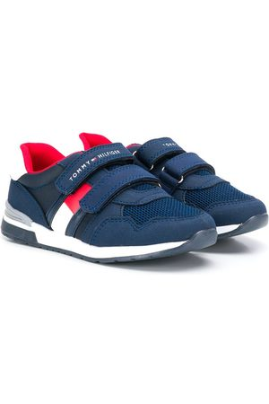 Tommy Hilfiger Junior Logo touch strap low-top sneakers