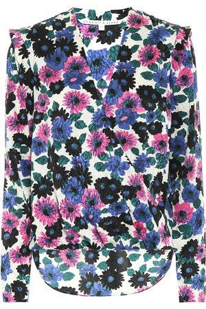 VERONICA BEARD Damen Blusen - Bedruckte Bluse aus Seide