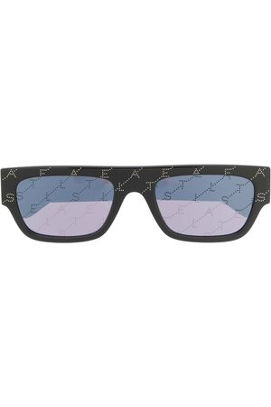 Stella McCartney Rectangle-frame logo sunglasses