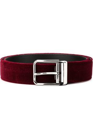 Dolce & Gabbana Velvet belt