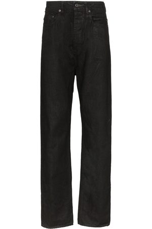 Rick Owens Waxed cotton jeans