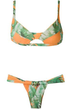 AMIR SLAMA Printed bkini set