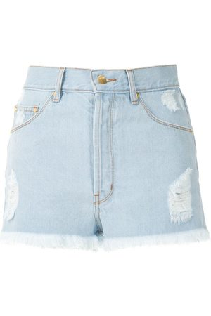 AMAPÔ Sandra boyfriend denim shorts