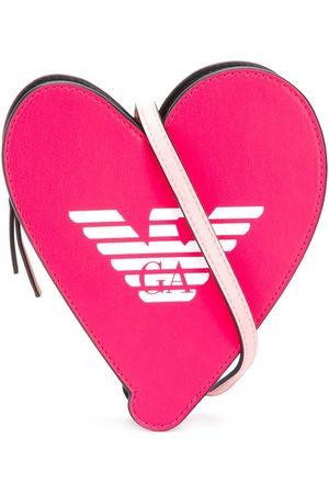 Emporio Armani Mädchen Umhängetaschen - Heart sling bag