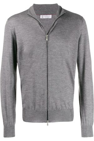 Brunello Cucinelli Zip-up knit sweater