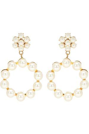 Jennifer Behr Ohrringe Leilani mit Perlen