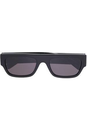 Stella McCartney Rhinestone logo rectangular-frame sunglasses