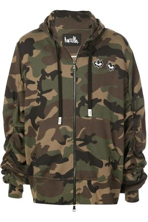HACULLA Never Duplicated camouflage hoodie