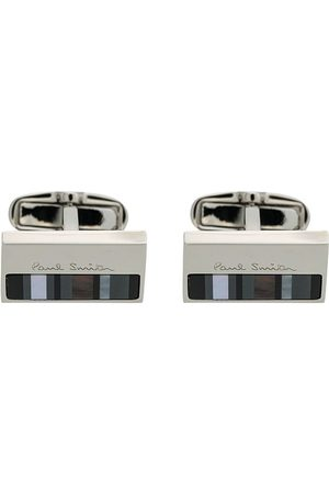Paul Smith Herren Manschettenknöpfe - Striped cufflinks