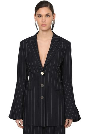 Loewe Damen Blazer & Sakkos - Blazer Aus Cool Wool Mit Nadelstreifen