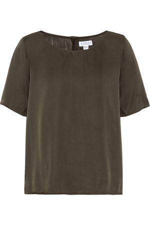 Velvet Damen Shirts - T-Shirt Bella aus Satin