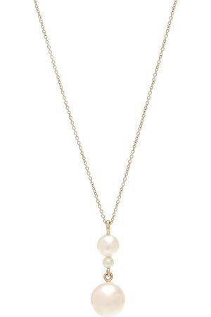 SOPHIE BILLE BRAHE Exklusiv bei Mytheresa – Halskette Perla Simple aus 14kt Gelbgold mit Perlen