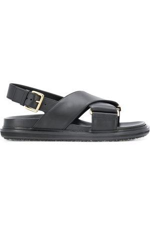 Marni Cross-strap sandals