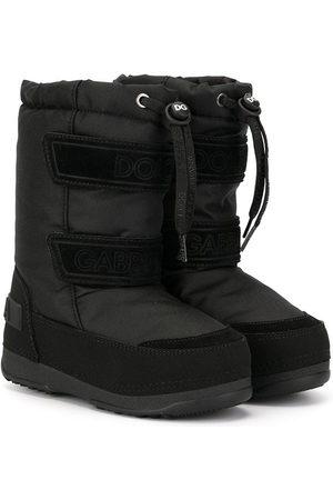 Dolce & Gabbana Round toe snow boots
