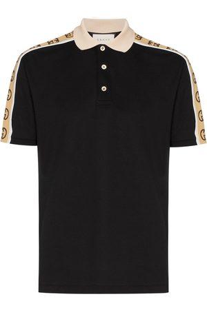 Gucci GG stripe polo shirt