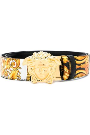 VERSACE Medusa Barocco Femme print belt