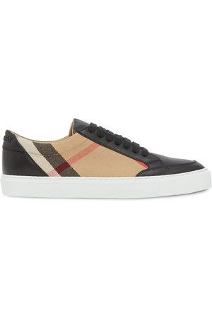 Burberry Damen Sneakers - Check pattern low-top sneakers