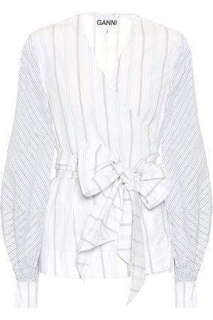 Ganni Bluse aus Baumwolle
