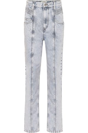 Isabel Marant, Étoile High-Rise Straight Jeans Henoya