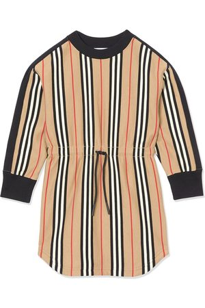 Burberry Icon Stripe Cotton Sweater Dress