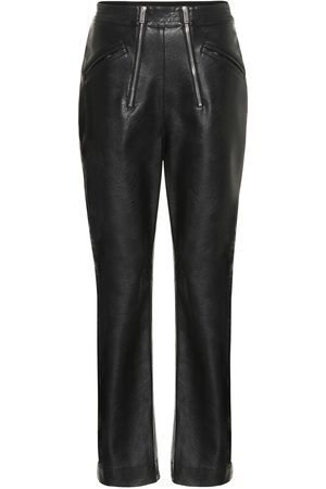 Stella McCartney Hose aus Lederimitat