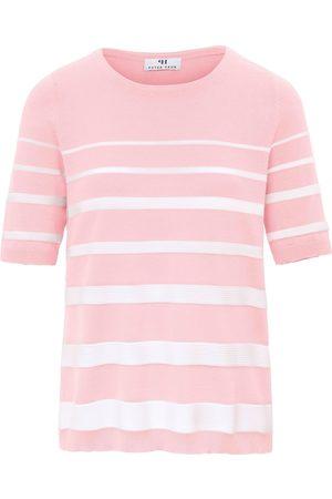 Peter Hahn Rundhals-Pullover aus 100% SUPIMA®-Baumwolle rosé