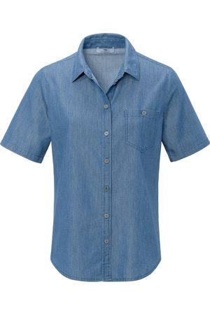 Peter Hahn Bluse 1/2-Arm denim