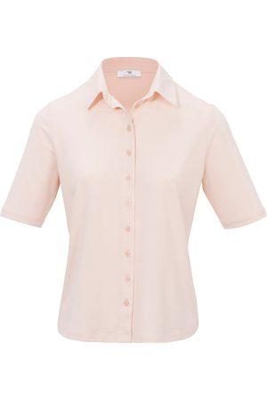 Peter Hahn Jersey-Bluse 1/2-Arm rosé