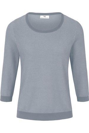 Peter Hahn Rundhals-Pullover aus 100% SUPIMA®-Baumwolle mehrfarbig