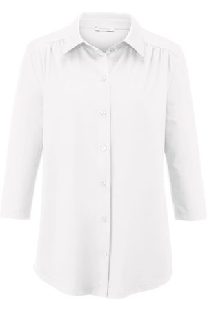 Efixelle Jersey-Bluse 3/4-Arm weiss